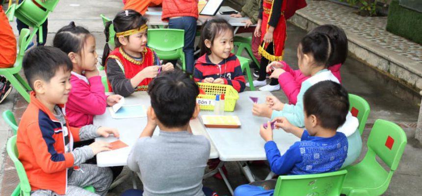 NGày hội tạo hình nhân dịp kỷ niệm ngày nhà giáo việt nam 20-11