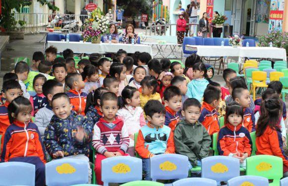 Ngày Hội tạo hình của các bé trường mầm non Hoa Sen