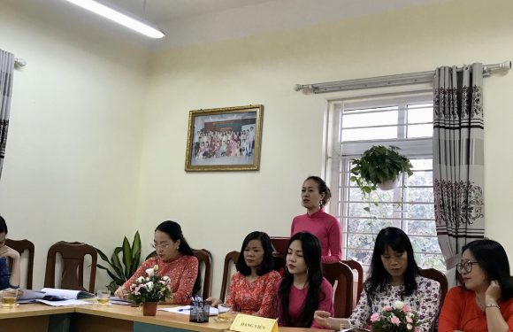 Đại hội Chi bộ trường MN Hoa Sen nhiệm kỳ 2020-2022